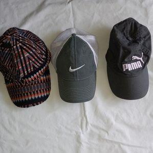 Nike puma collectioneighteen caps